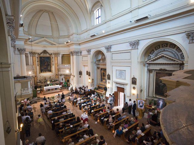 Il matrimonio di Francesco e Francesca a Belvedere Ostrense, Ancona 22