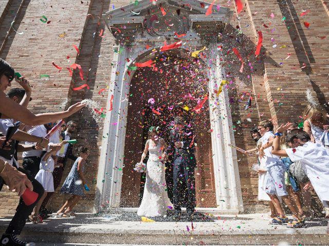 Il matrimonio di Francesco e Francesca a Belvedere Ostrense, Ancona 32