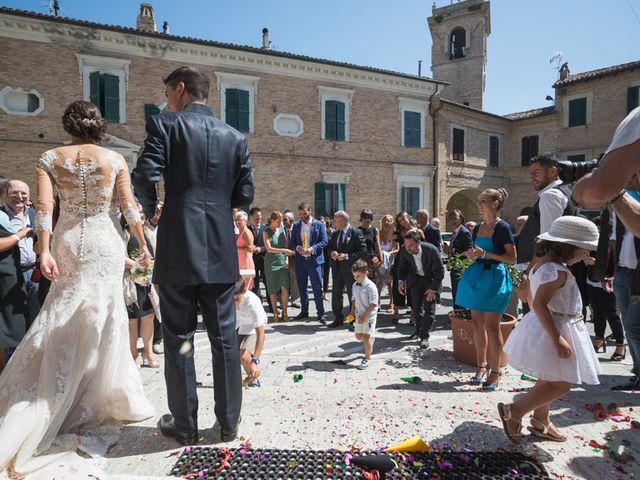 Il matrimonio di Francesco e Francesca a Belvedere Ostrense, Ancona 33