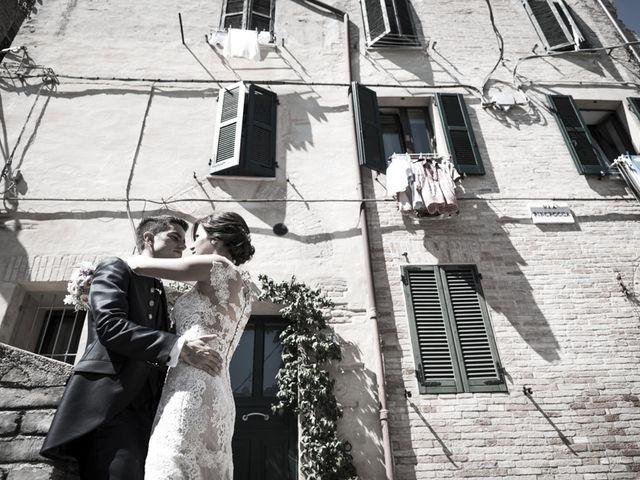 Il matrimonio di Francesco e Francesca a Belvedere Ostrense, Ancona 36