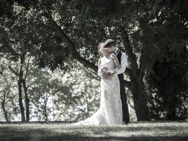 Il matrimonio di Francesco e Francesca a Belvedere Ostrense, Ancona 1