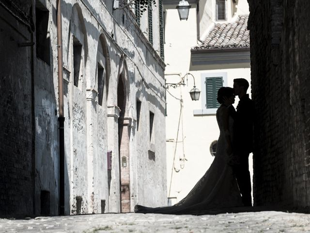 Il matrimonio di Francesco e Francesca a Belvedere Ostrense, Ancona 2