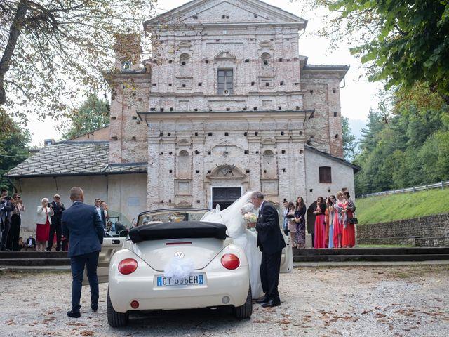Il matrimonio di File e Luca a Costigliole Saluzzo, Cuneo 19