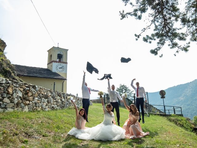 Il matrimonio di File e Luca a Costigliole Saluzzo, Cuneo 24