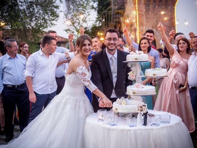 Il matrimonio di File e Luca a Costigliole Saluzzo, Cuneo 33