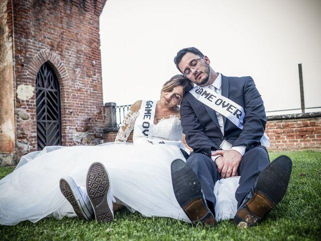 Il matrimonio di File e Luca a Costigliole Saluzzo, Cuneo 36