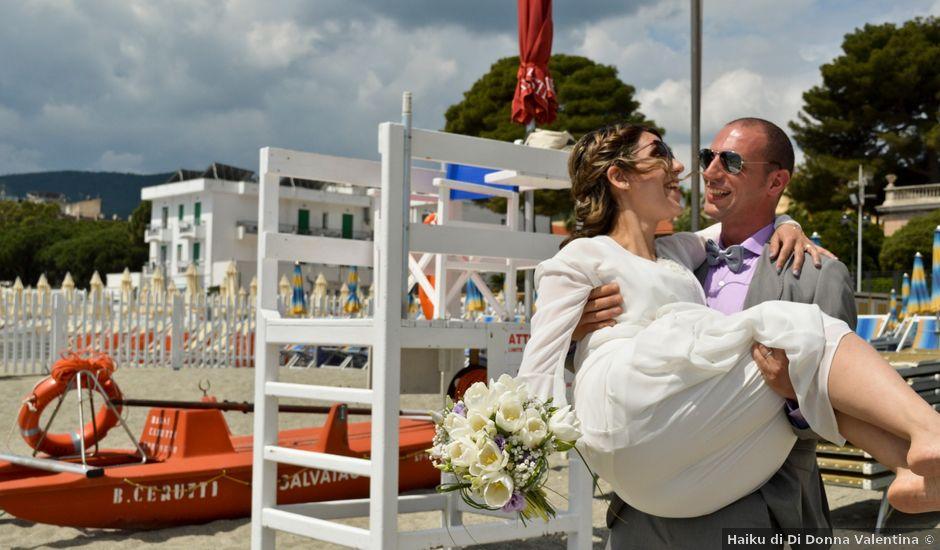 Il matrimonio di Walte e Sabrina a Spotorno, Savona