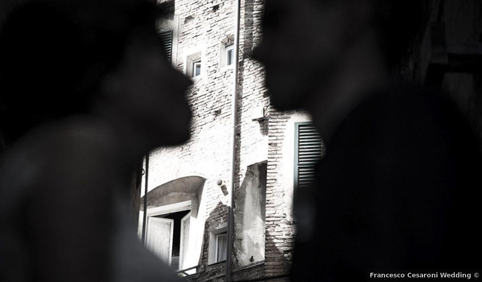 Il matrimonio di Francesco e Francesca a Belvedere Ostrense, Ancona