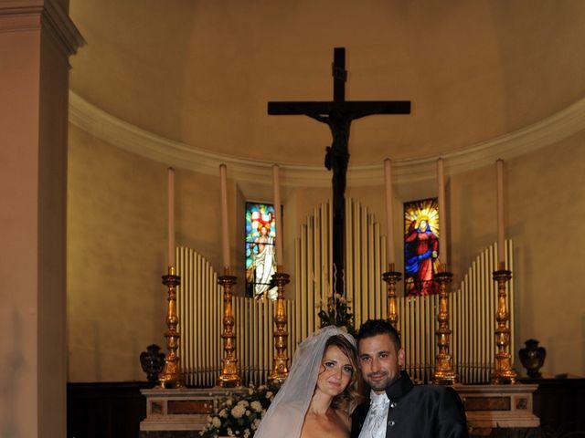 Il matrimonio di luca e Silvia a Pontedera, Pisa 5