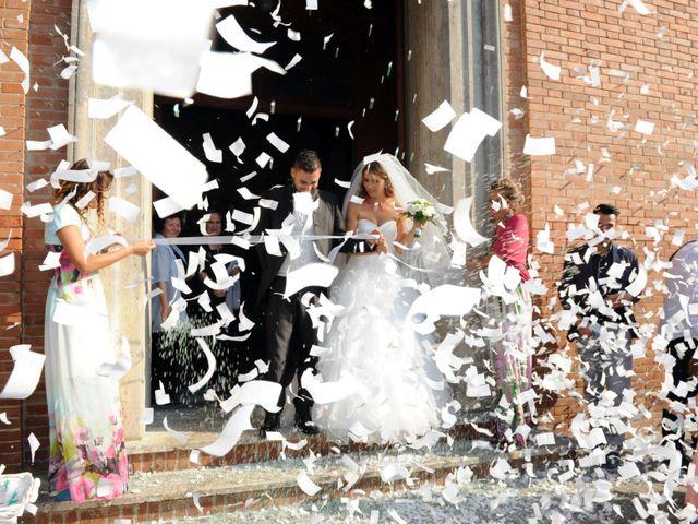 Il matrimonio di luca e Silvia a Pontedera, Pisa 9