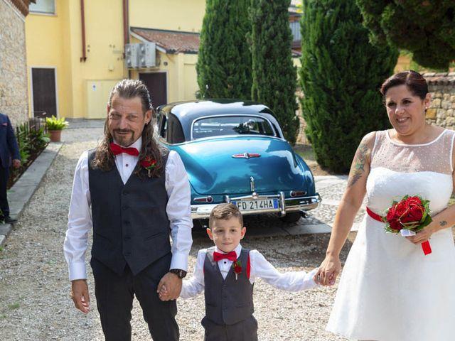 Il matrimonio di Walter e Silvia a Soave, Verona 33