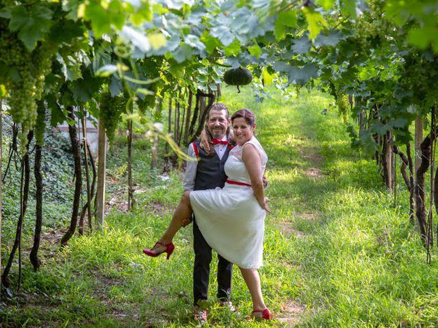 Il matrimonio di Walter e Silvia a Soave, Verona 40