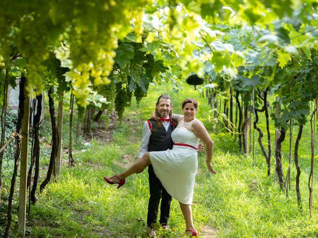 Il matrimonio di Walter e Silvia a Soave, Verona 41