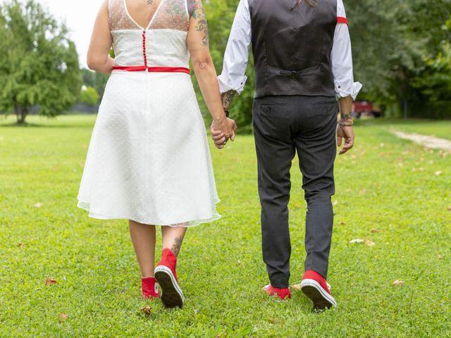 Il matrimonio di Walter e Silvia a Soave, Verona 52