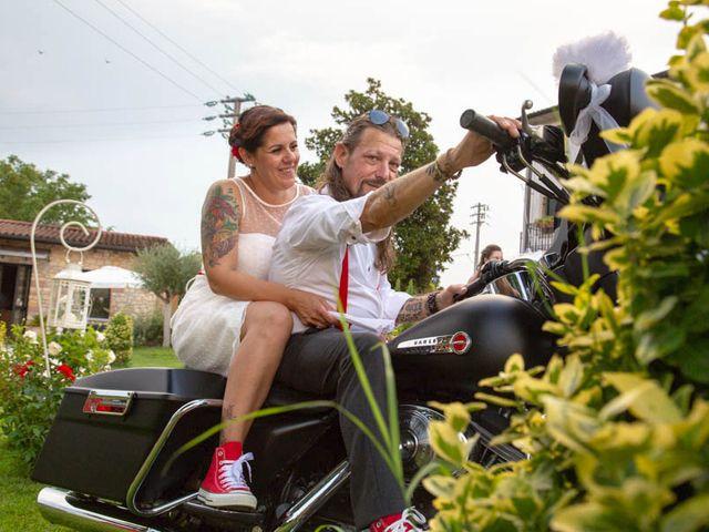 Il matrimonio di Walter e Silvia a Soave, Verona 55