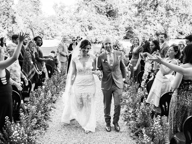 Le nozze di Erica e Jeffrey