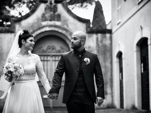 Il matrimonio di Silvio e Fabiola a Ciampino, Roma 45