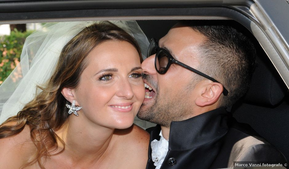 Il matrimonio di luca e Silvia a Pontedera, Pisa