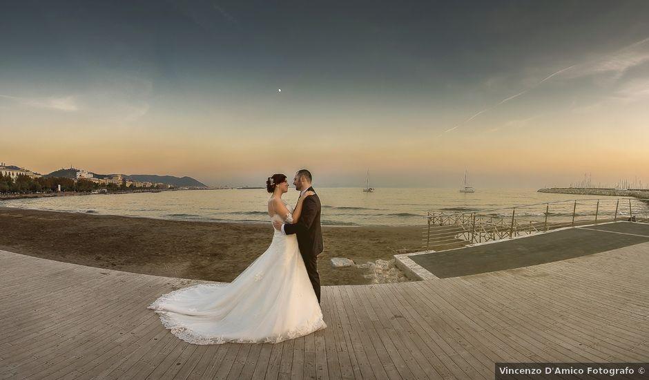 Il matrimonio di Pietro e Serena a Salerno, Salerno