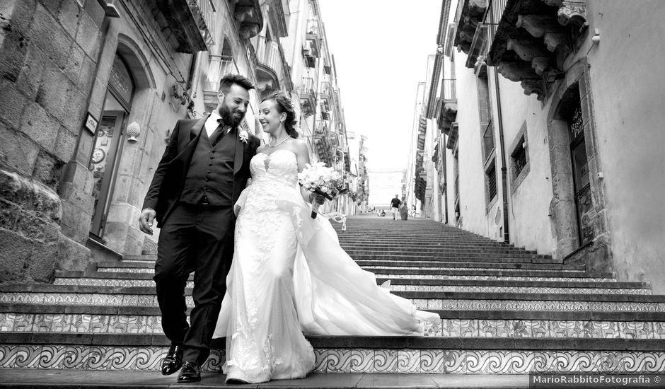 Il matrimonio di Davide e Morena a Caltagirone, Catania