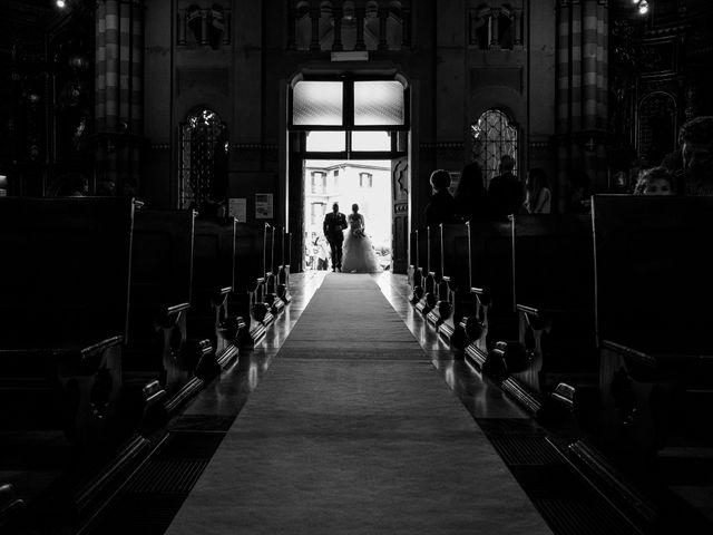 Il matrimonio di Fabio e Francesca a Trino, Vercelli 32