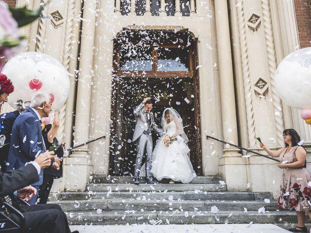 Il matrimonio di Fabio e Francesca a Trino, Vercelli 44