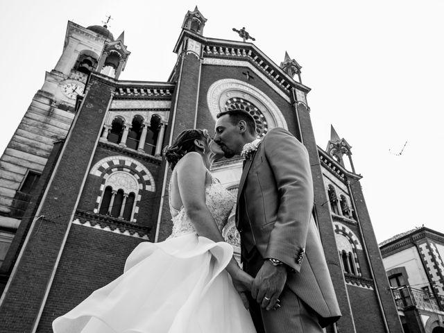 Il matrimonio di Fabio e Francesca a Trino, Vercelli 49