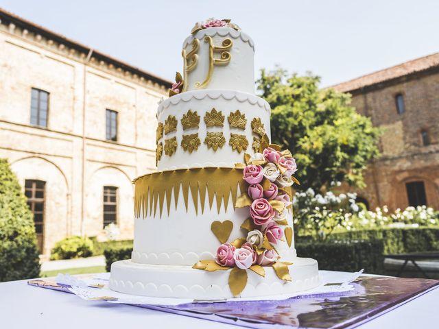 Il matrimonio di Fabio e Francesca a Trino, Vercelli 54