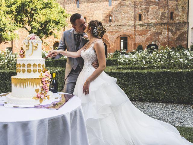 Il matrimonio di Fabio e Francesca a Trino, Vercelli 62