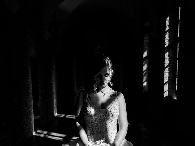 Il matrimonio di Fabio e Francesca a Trino, Vercelli 80