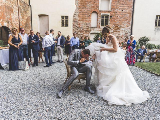Il matrimonio di Fabio e Francesca a Trino, Vercelli 87