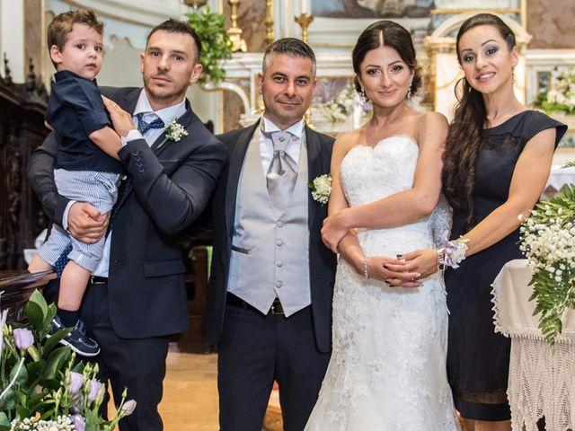 Il matrimonio di Pino Crispino e Daniela Matache a Brembate, Bergamo 47