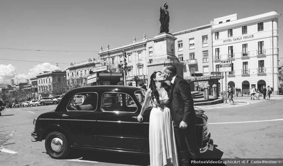 Il matrimonio di Ignazio e Bernadette a Cagliari, Cagliari