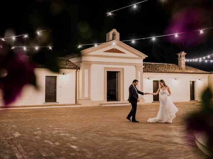 le nozze di Lina e Francesco