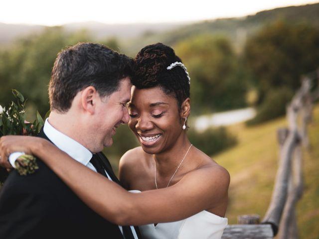 Le nozze di Shannon e Jeff
