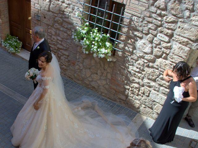 Il matrimonio di Egidio e Alessia a Massa Martana, Perugia 3