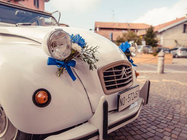 Il matrimonio di Daniel e Chiara a Cressa, Novara 14