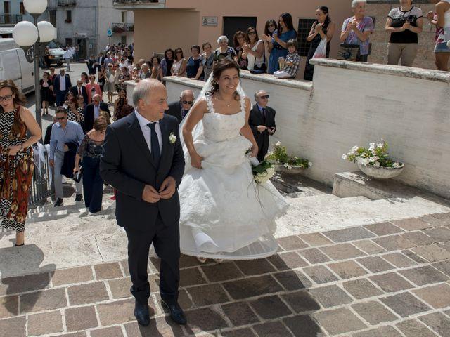 Il matrimonio di Gianluca e Mara a Lanciano, Chieti 21
