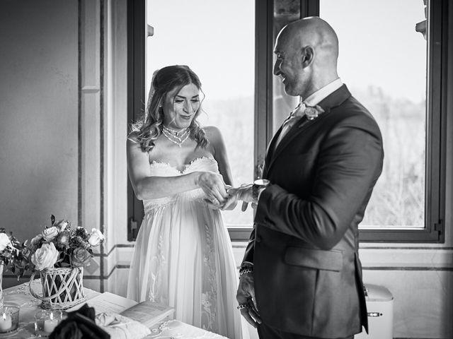 Il matrimonio di Giorgio e Francesca a Filago, Bergamo 11