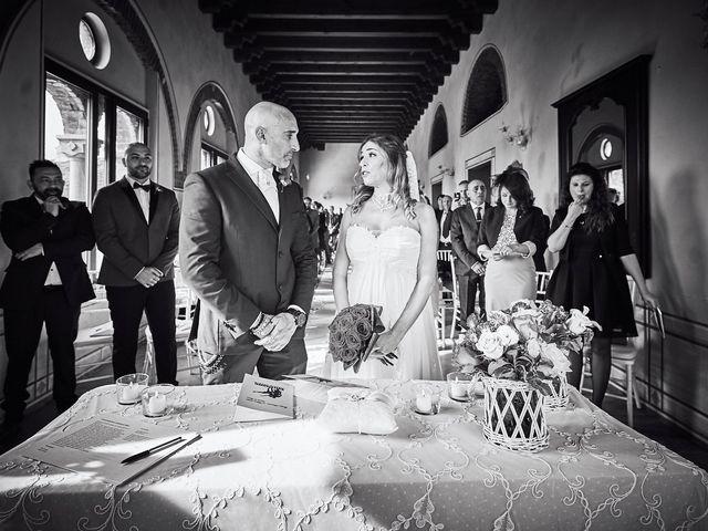 Il matrimonio di Giorgio e Francesca a Filago, Bergamo 21