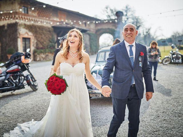 Il matrimonio di Giorgio e Francesca a Filago, Bergamo 23