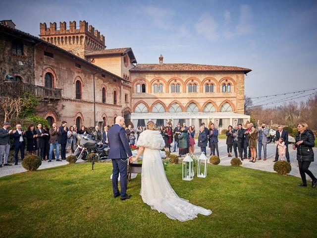 Il matrimonio di Giorgio e Francesca a Filago, Bergamo 43