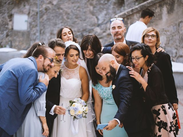 Il matrimonio di Simona e Maurizio a Amalfi, Salerno 9