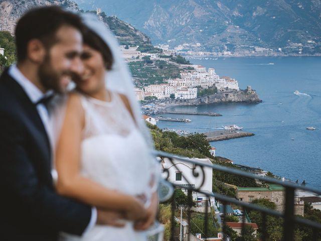 Il matrimonio di Simona e Maurizio a Amalfi, Salerno 54