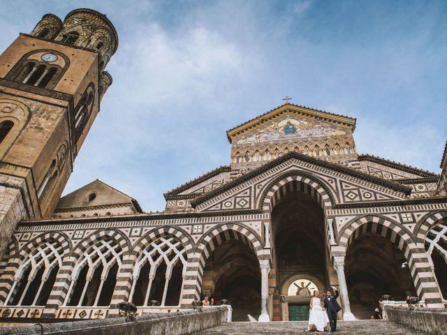 Il matrimonio di Simona e Maurizio a Amalfi, Salerno 61