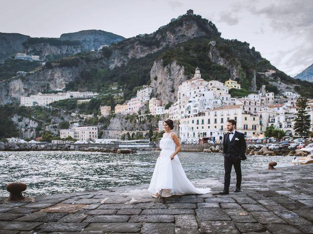 Il matrimonio di Simona e Maurizio a Amalfi, Salerno 62