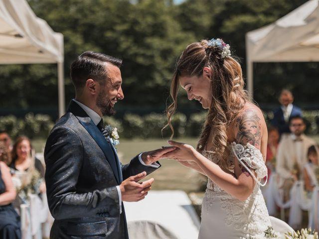 Il matrimonio di Fabio e Debora a Fontaneto d'Agogna, Novara 75