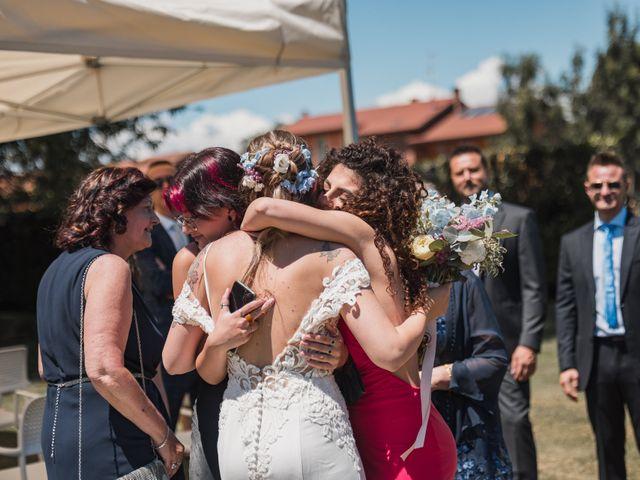 Il matrimonio di Fabio e Debora a Fontaneto d'Agogna, Novara 83