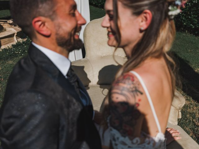 Il matrimonio di Fabio e Debora a Fontaneto d'Agogna, Novara 114