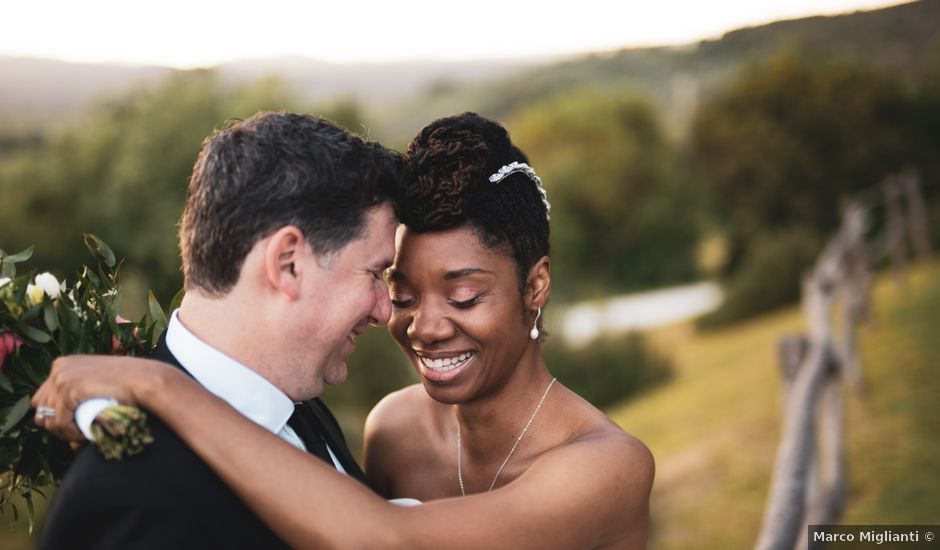 Il matrimonio di Jeff e Shannon a Massa Marittima, Grosseto